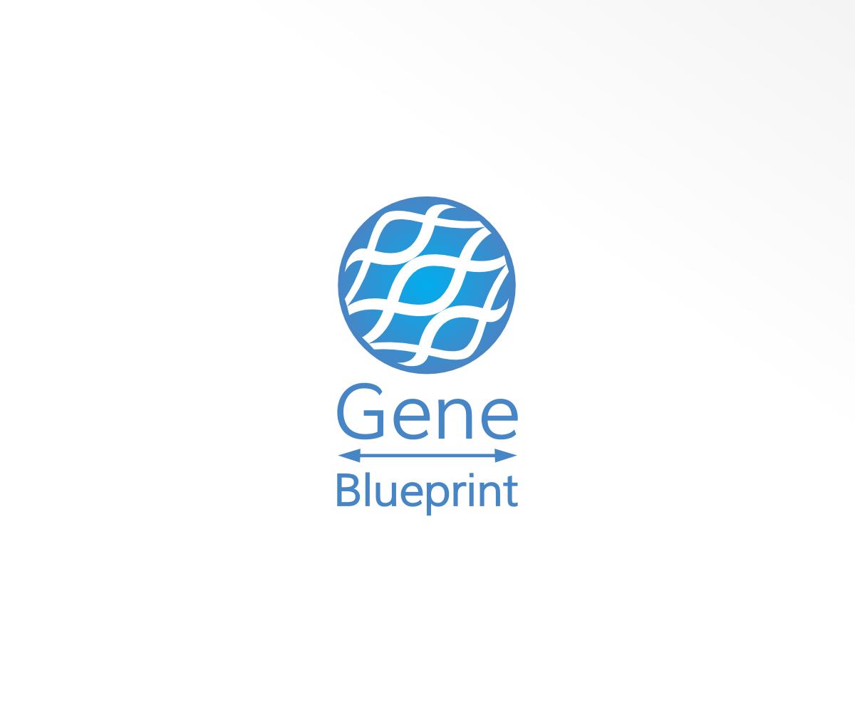 Serious upmarket health and wellness logo design for gene logo design by design for gene blueprint design 11803468 malvernweather Image collections