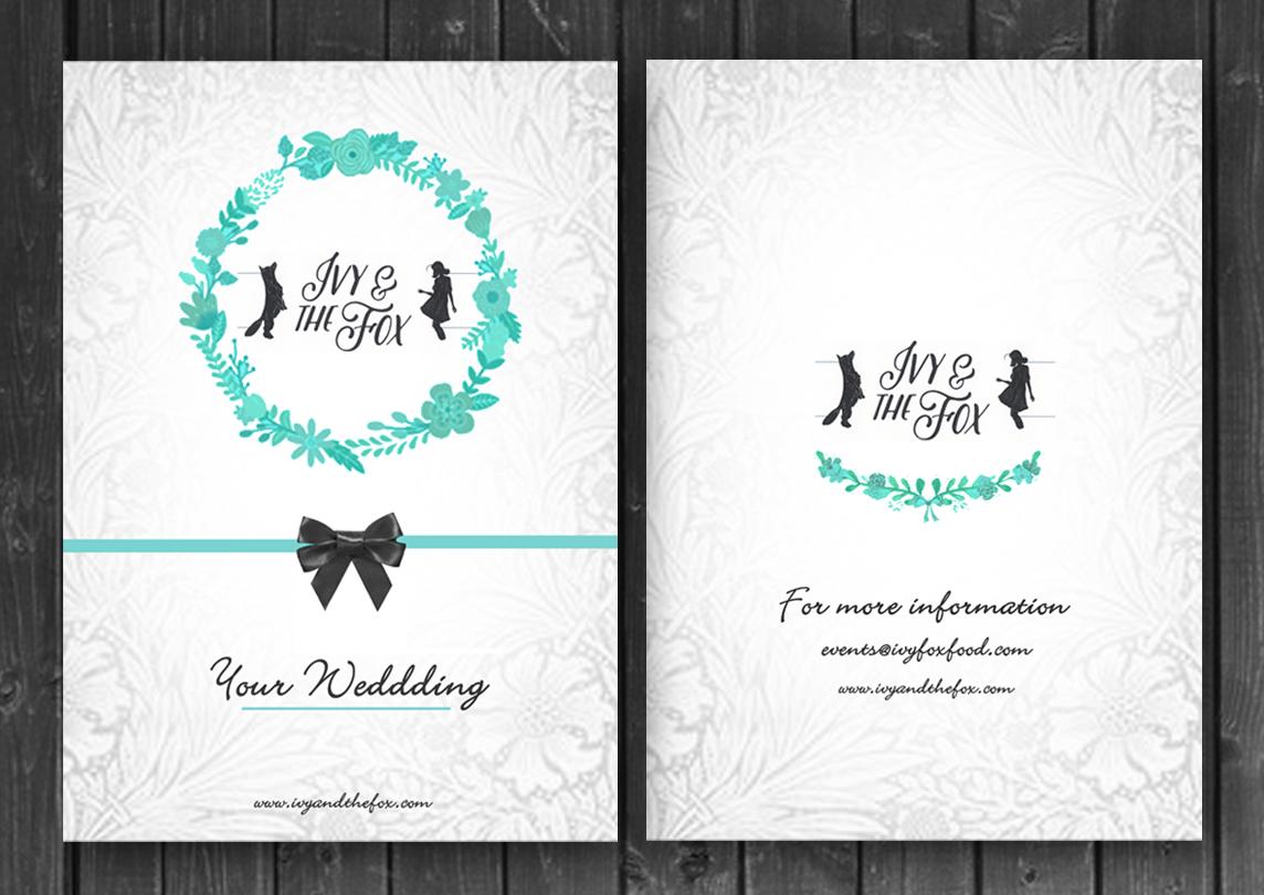 Elegant, Upmarket, Wedding Brochure Design for Ivy & The Fox by ...