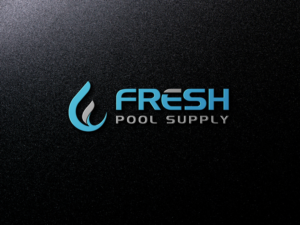 Water logo design galleries for inspiration for Pool design company elwira kowalska