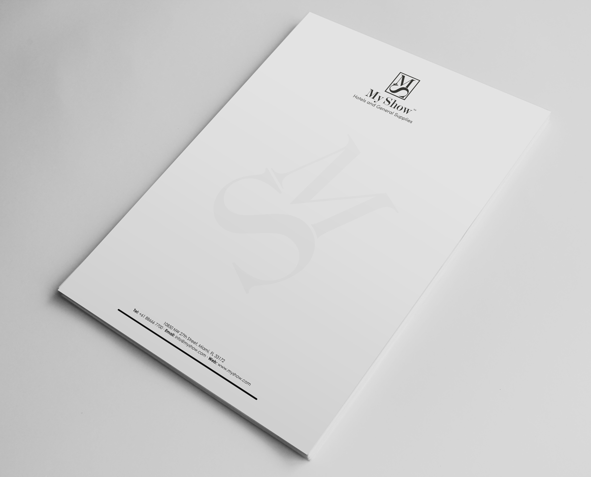 elegant yellow and gray waves letterhead design template. indesign ...