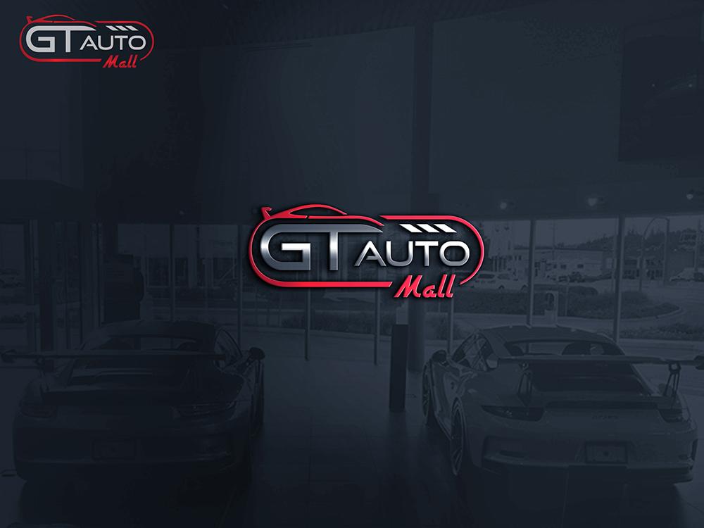 Serious Modern Car Dealer Logo Design For Gt Auto Mall By Wanwan Design 11699674