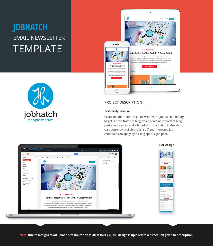 Elegant modern consulting email marketing design for a for Modern email design