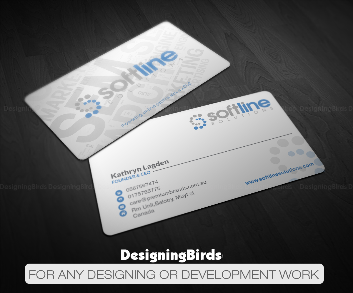 Upmarket modern marketing business card design for a company by business card design by designing birds for this project design 11794557 colourmoves