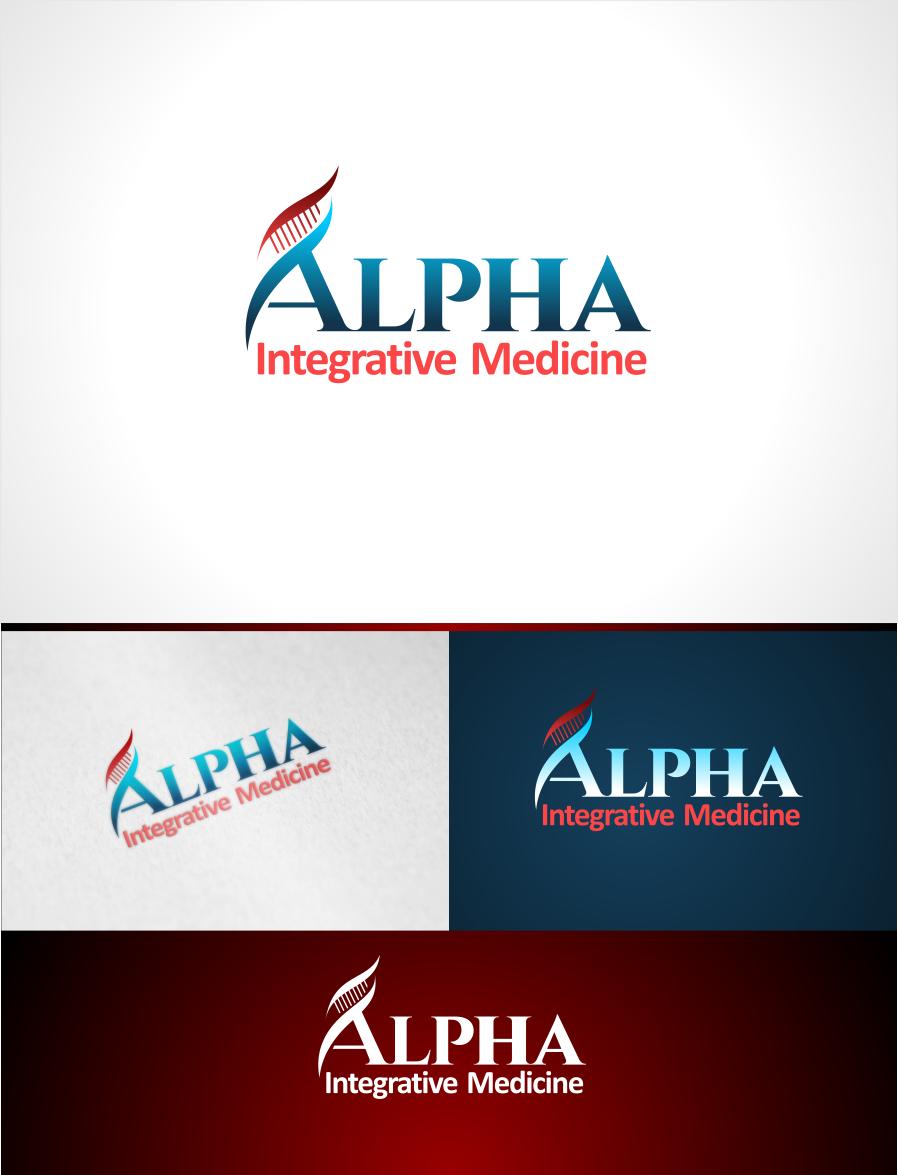 Serious, Modern, Health And Wellness Logo Design for Alpha
