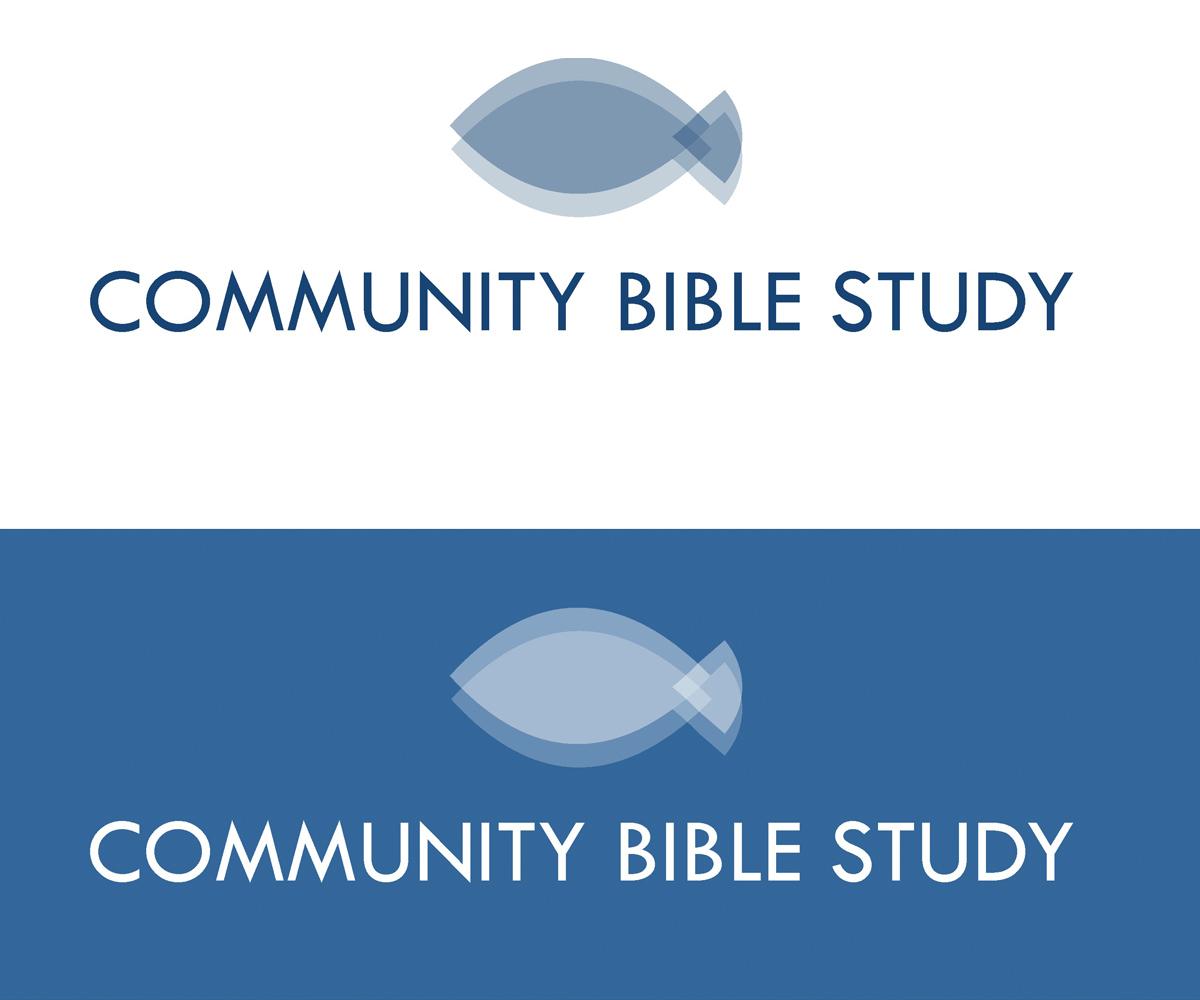 Bible study community group logo