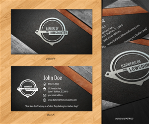 Barber Business Card Design Galleries for Inspiration