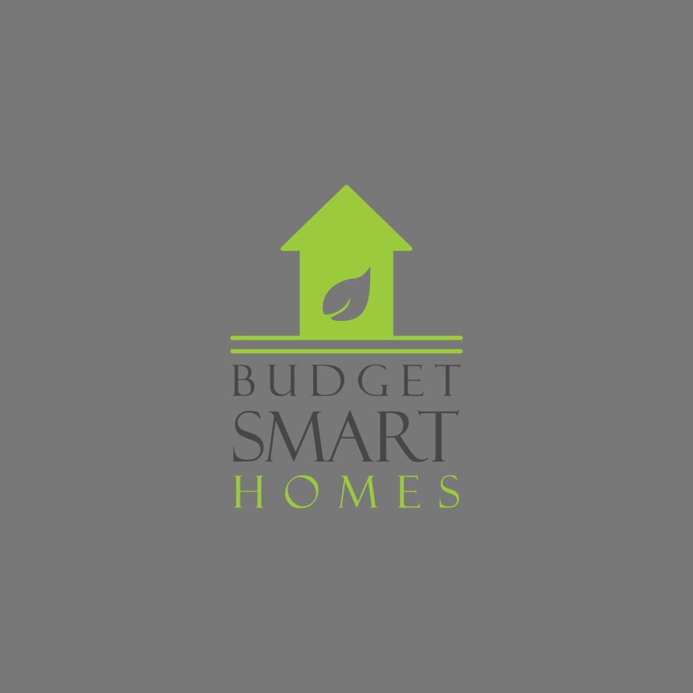 elegant playful residential construction logo design for budget