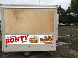 Bonty - food stand (booth) design | 70 Poster Designs for a business