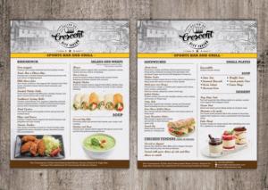 menu design custom menu design service