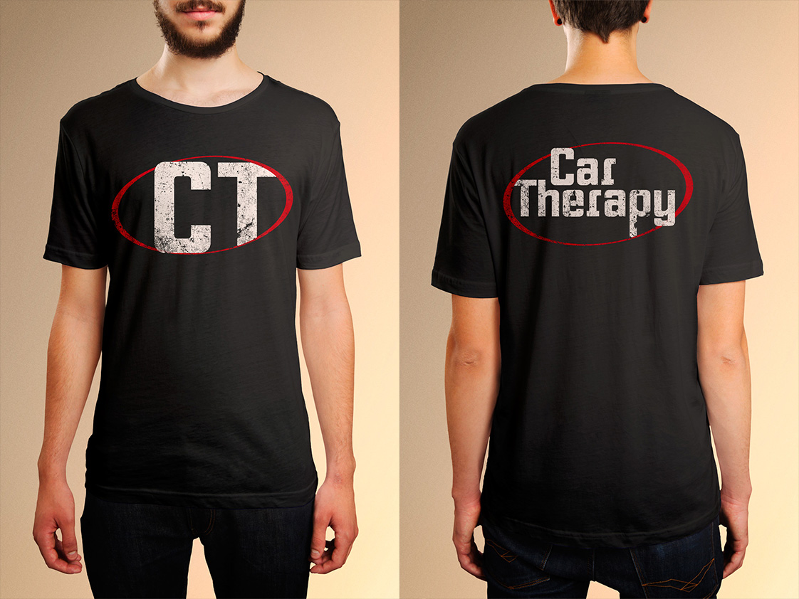 Masculine, Conservative, Automotive T-shirt Design for Car Therapy ...