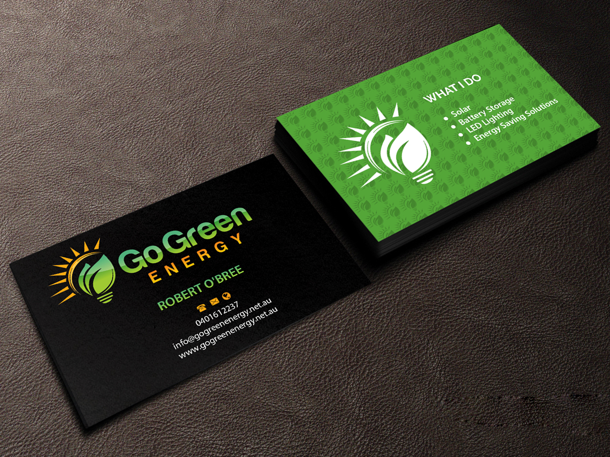Elegant playful business business card design for a company by business card design by creations box 2015 for this project design 11796559 reheart Images