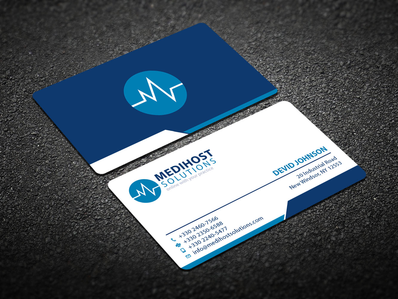 Modern Upmarket Business Business Card Design For A Company By