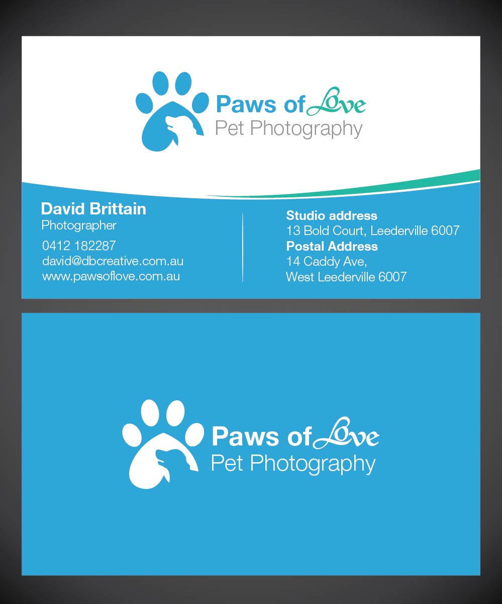 Pet Business Card Designs