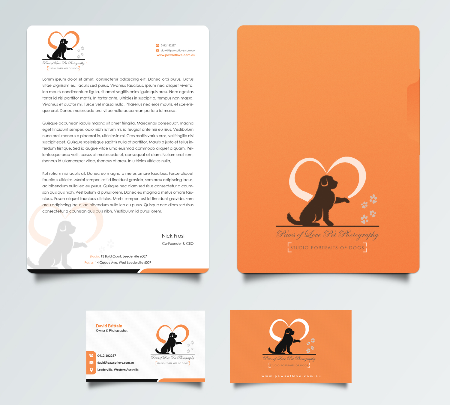 Bold playful business card design for david brittain by for Award winning business card designs