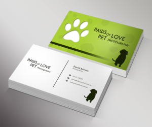 101 bold playful portrait photography business card designs for a