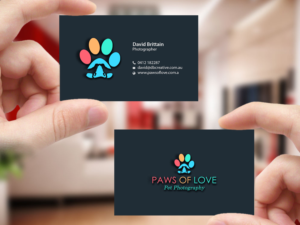Pet business card design galleries for inspiration page 4 award winning pet photographer needs business card and letterhead business card design by creations box colourmoves