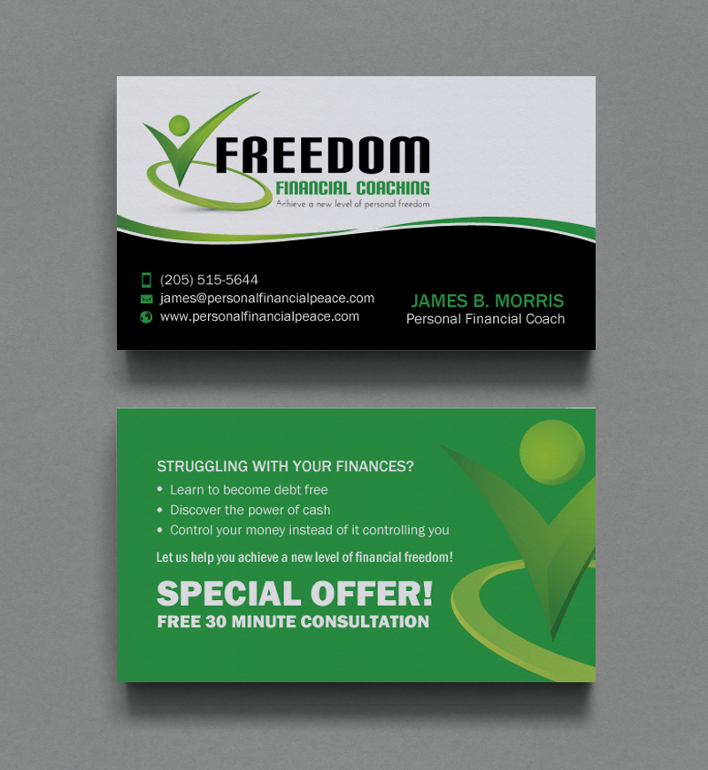 173 Professional Business Card Designs | Financial Planning Business ...