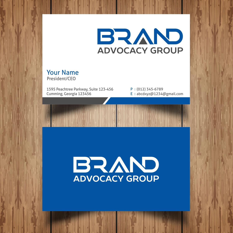 Conservative, Bold, Fashion Logo Design for BRANDVOCACY by Hi-Tech ...