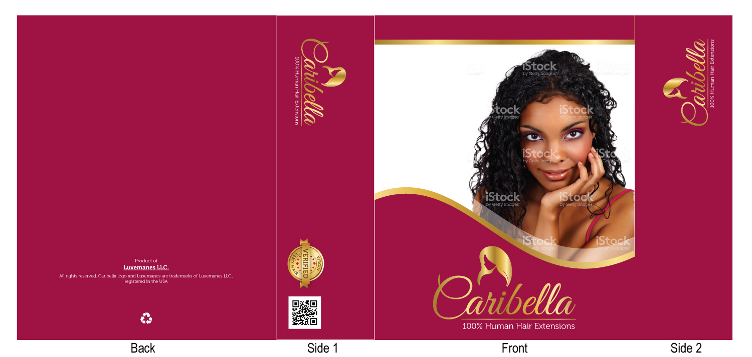 Elegant Feminine Hair And Beauty Packaging Design For A Company By