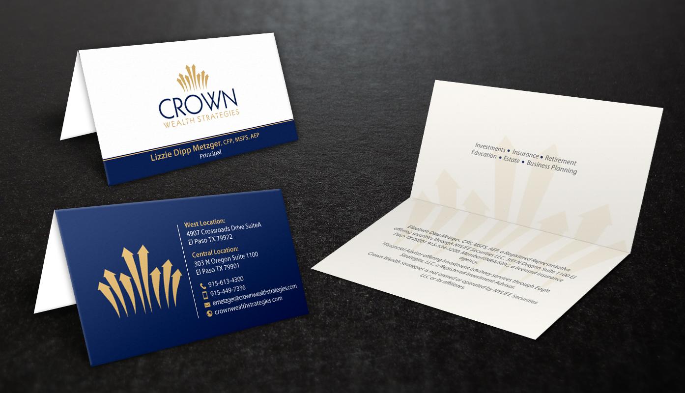 Elegant, Upmarket Business Card Design for Liz Metzger by ...