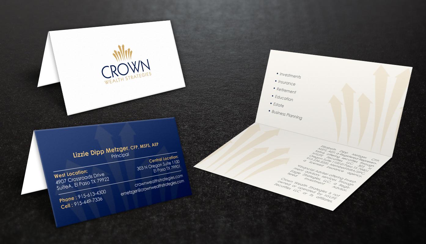 Elegant, Upmarket, Financial Planning Business Card Design for a ...