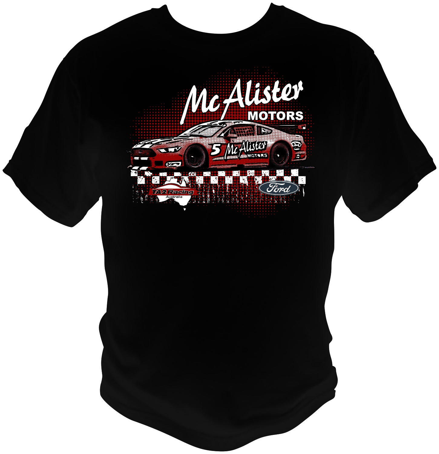 t shirt design for mcalister motors by bacujkov - Racing T Shirt Design Ideas