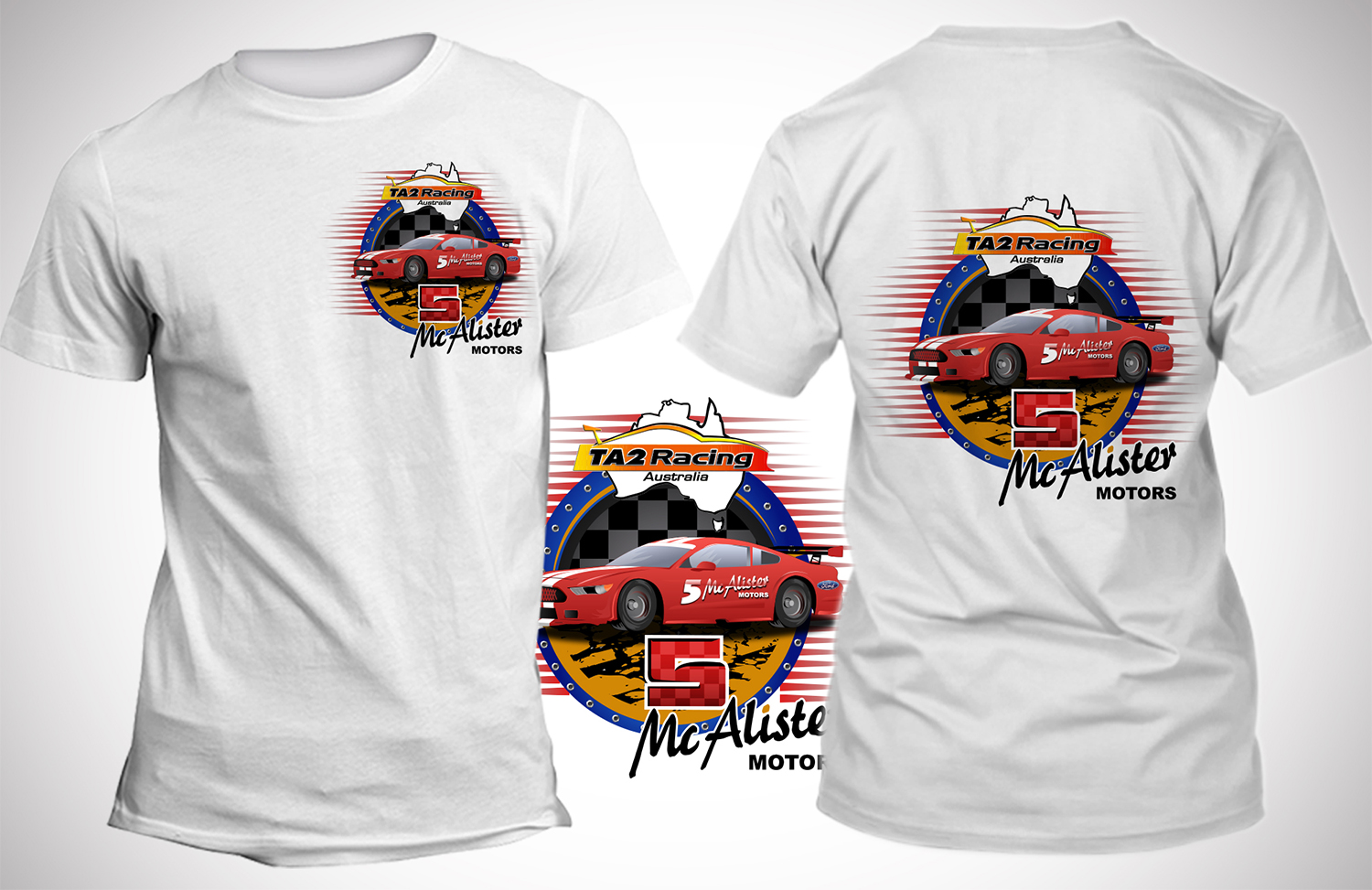 T Shirt Design For Mcalister Motors By Sd Webcreation