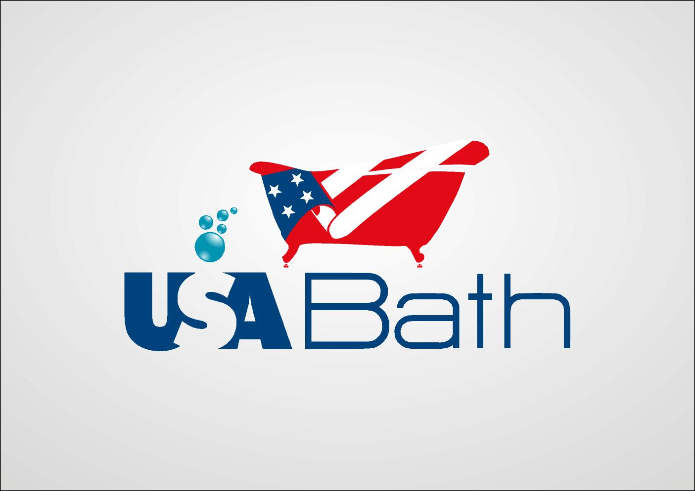 Colorful upmarket it company logo design for usa bath by for Design company usa
