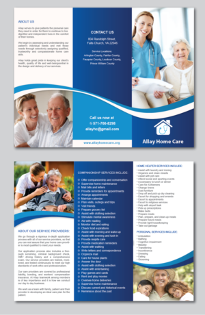 home care flyer