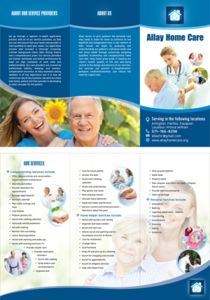 62 Elegant Playful Home Health Care Brochure Designs for a Home ...