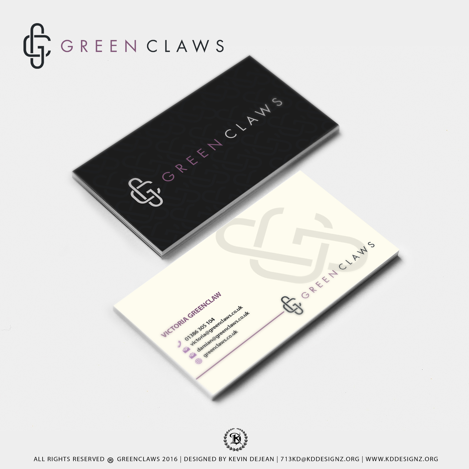 Elegant, Modern, Wedding Business Card Design for Weddings and ...