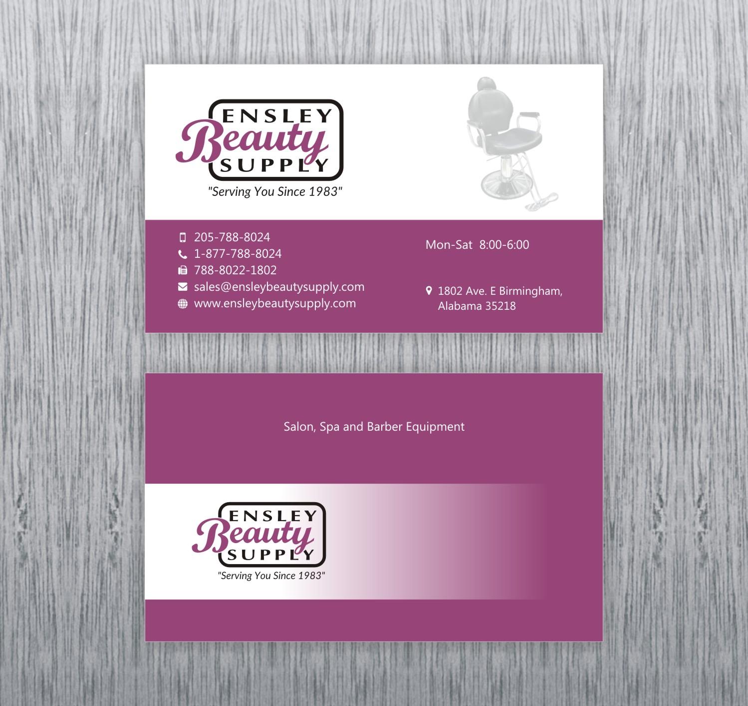 elegant playful business card design for ben ward by poonam gupta