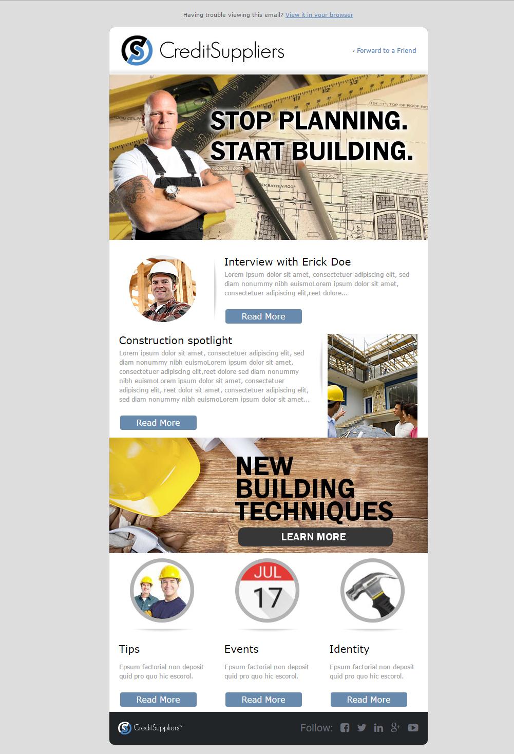 Poster design jobs online - Great Newsletter Design Job Html Newsletter Template For Company Winning Design By Angel Ascanio With Design Job Online