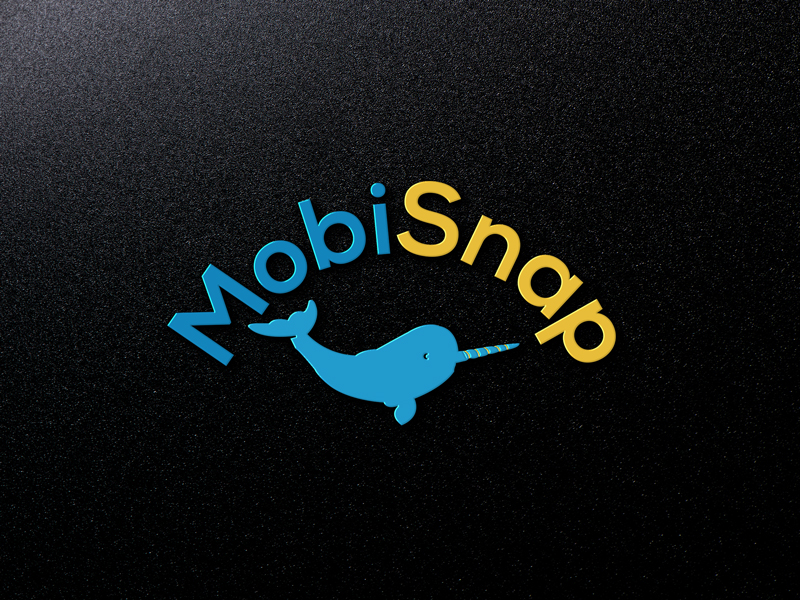 Playful Bold Business Logo Design For Mobisnap By Design Craft