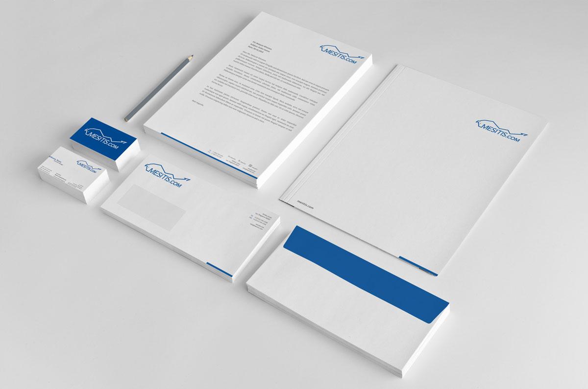 Letterhead Design By AS Creative For Mesitis Capital Pte Ltd