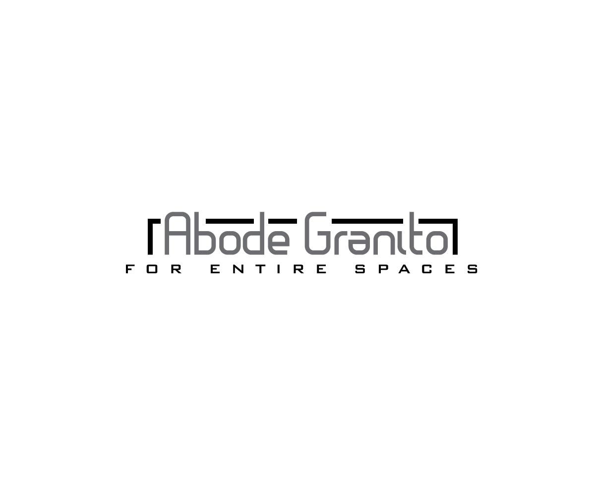 Bold modern logo design for pratik patel by carluhnsons logo design by carluhnsons for abode granito ceramic tiles industries design dailygadgetfo Gallery