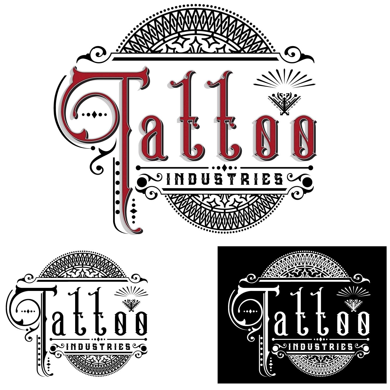 Bold, Modern, Tattoo Logo Design for Tattoo Industry, TI, Tattoo ...