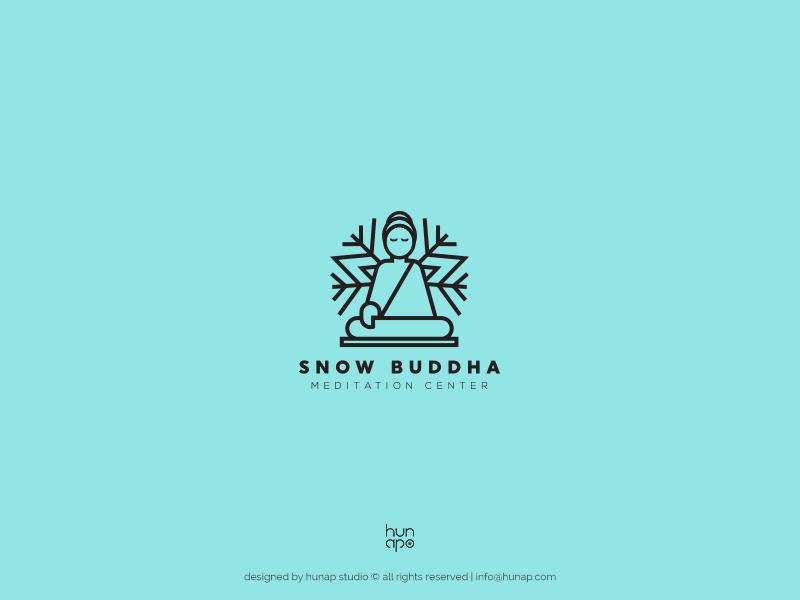 modern professional health and wellness logo design for snow