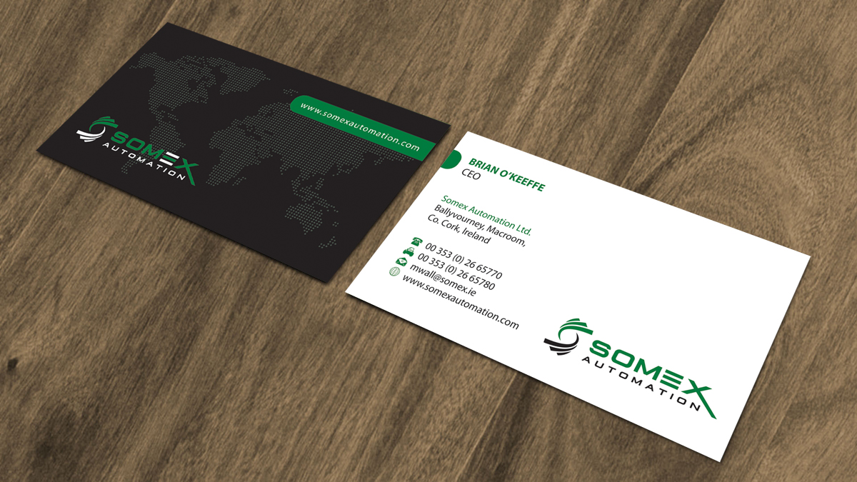 Business business card design for a company by alpesh9520 design business business card design for a company in ireland design 11862771 reheart Images
