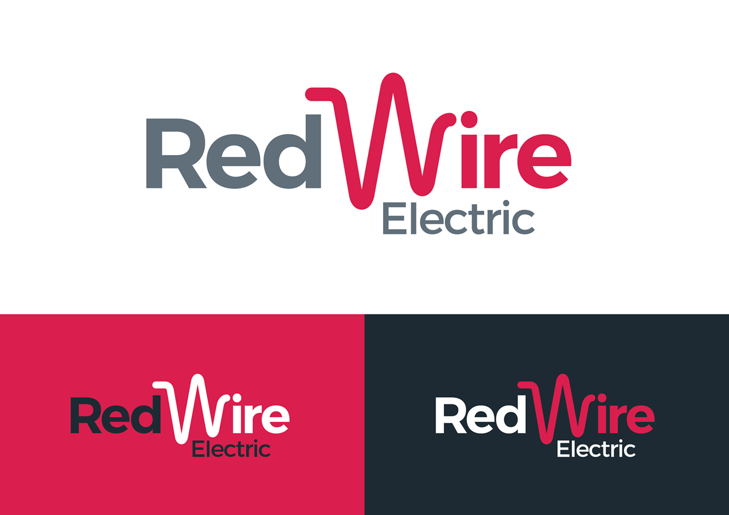 Serious, Upmarket, Electrician Logo Design for Red Wire Electric by ...