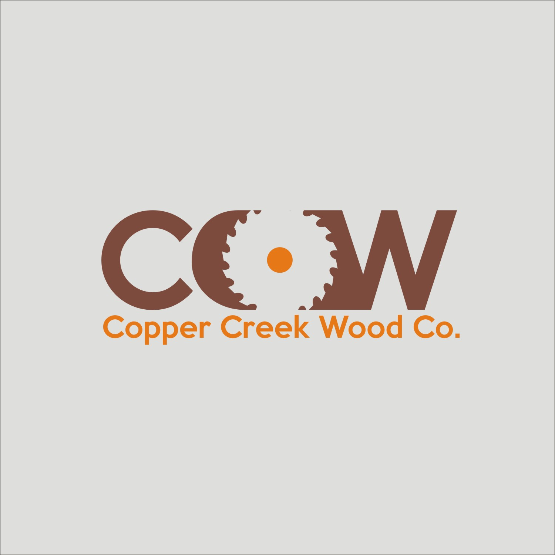 Logo Design By GRADES For Copper Creek Wood Company