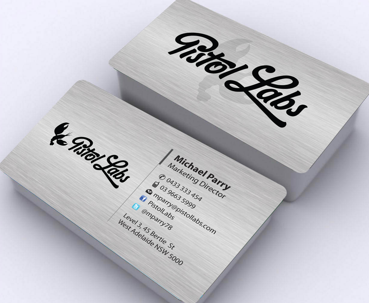 digital business card design for a company by sbss design 2367883