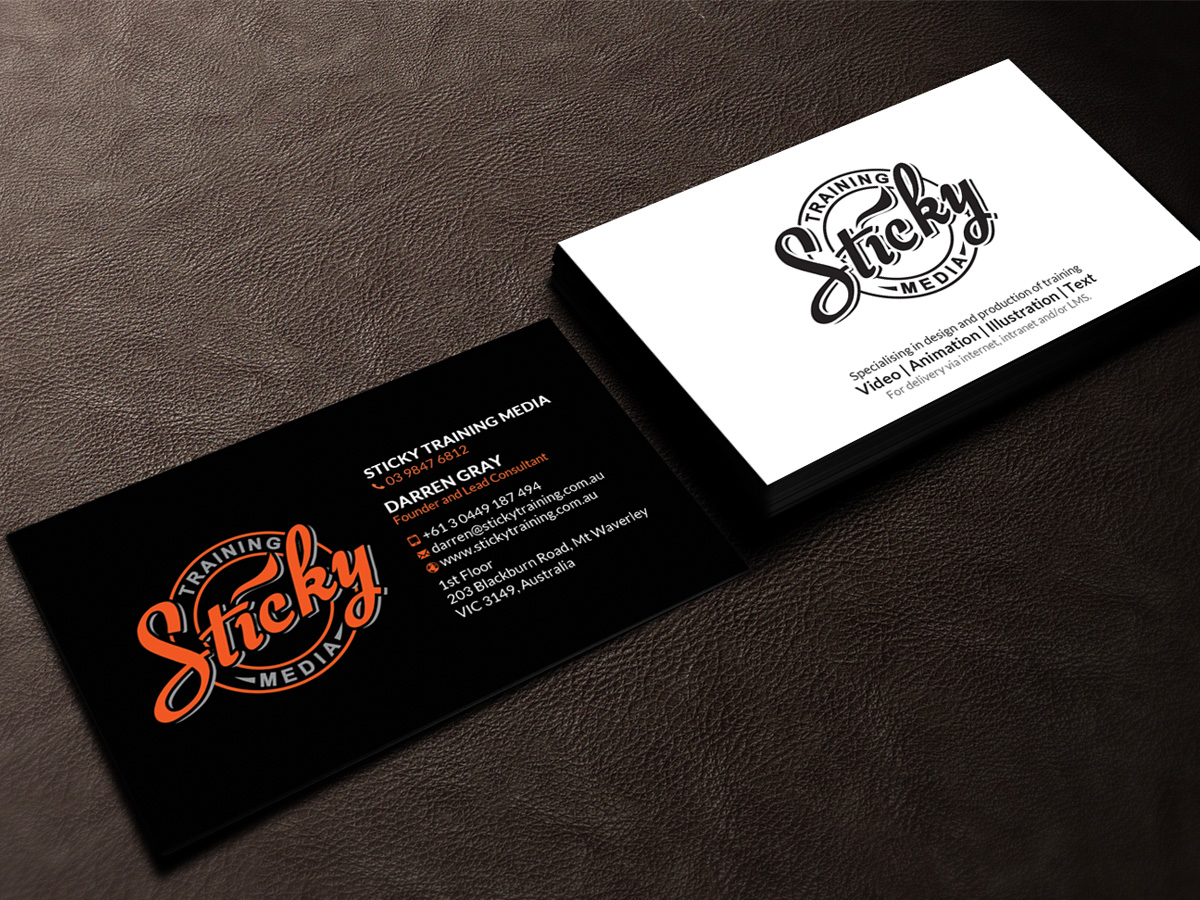 Serious modern training business card design for a company by business card design by sandaruwan for this project design 11909395 reheart Choice Image