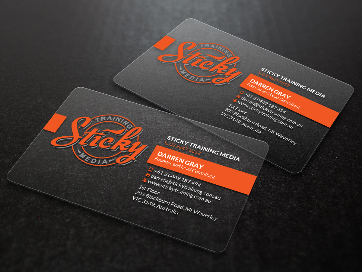 Serious modern training business card design for a company by business card design by sandaruwan for this project design 11909396 reheart Choice Image