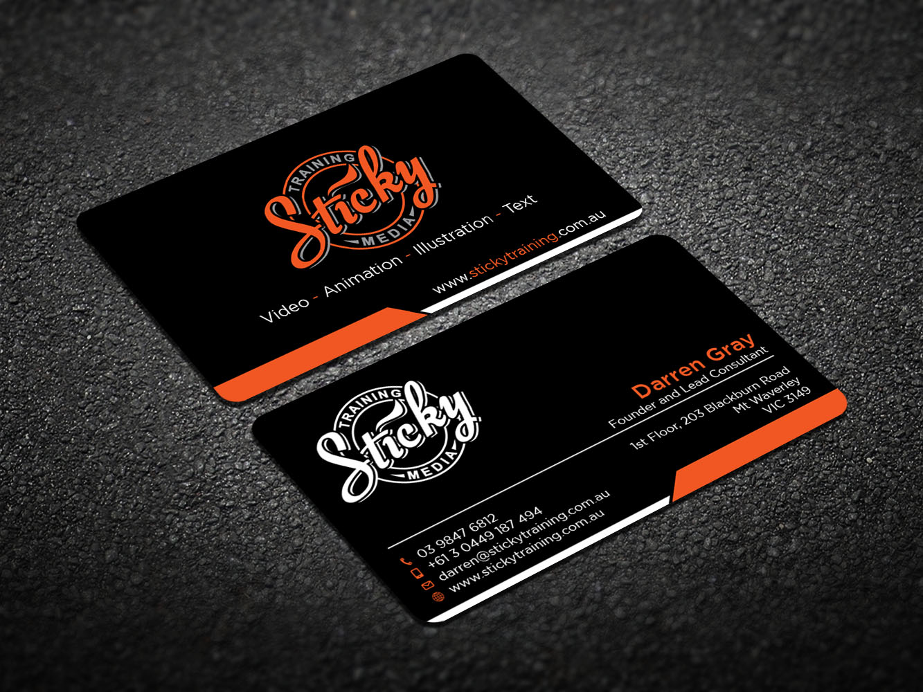 Serious modern training business card design for a company by business card design by design xeneration for this project design 11889601 reheart Choice Image
