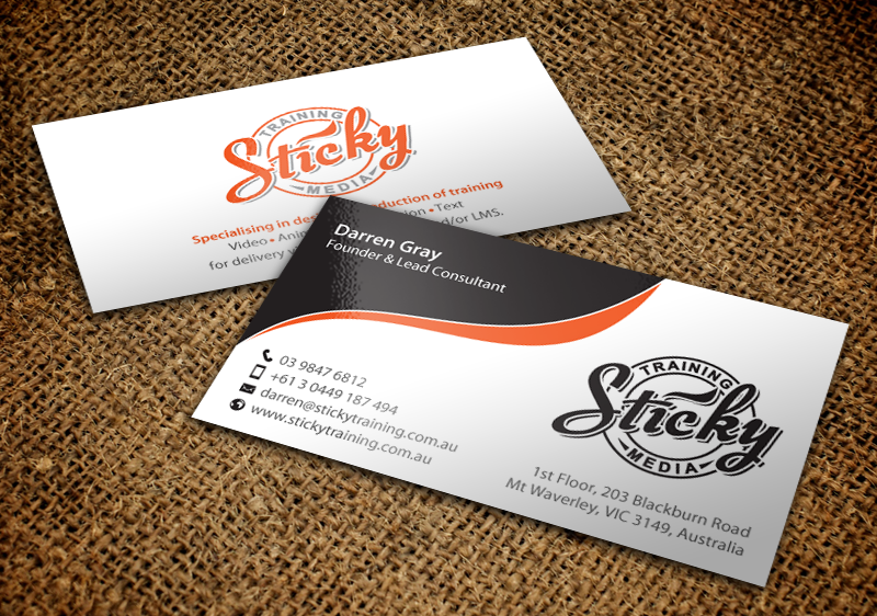 Serious modern training business card design for a company by business card design by chandrayaaneative for this project design 11889278 reheart Choice Image