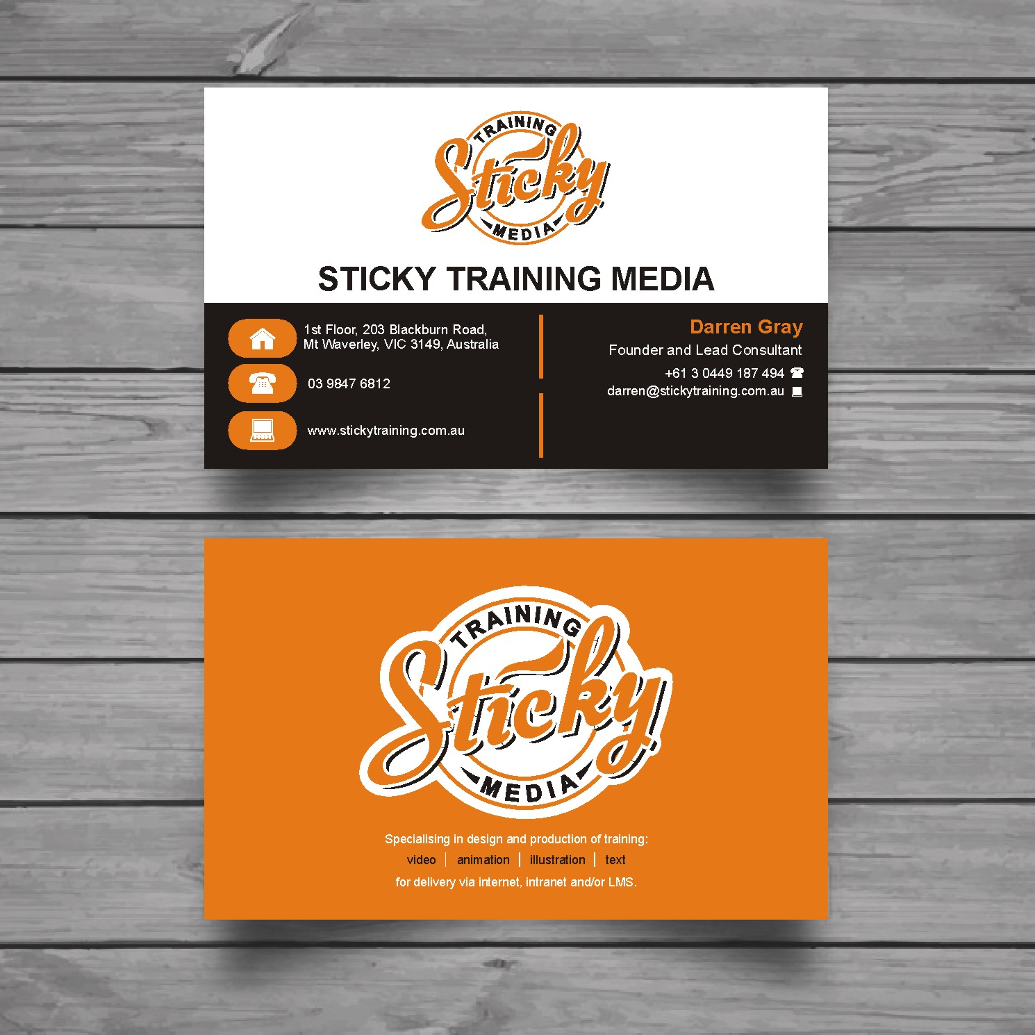 Serious modern training business card design for a company by business card design by raajesh for this project design 11906699 reheart Choice Image