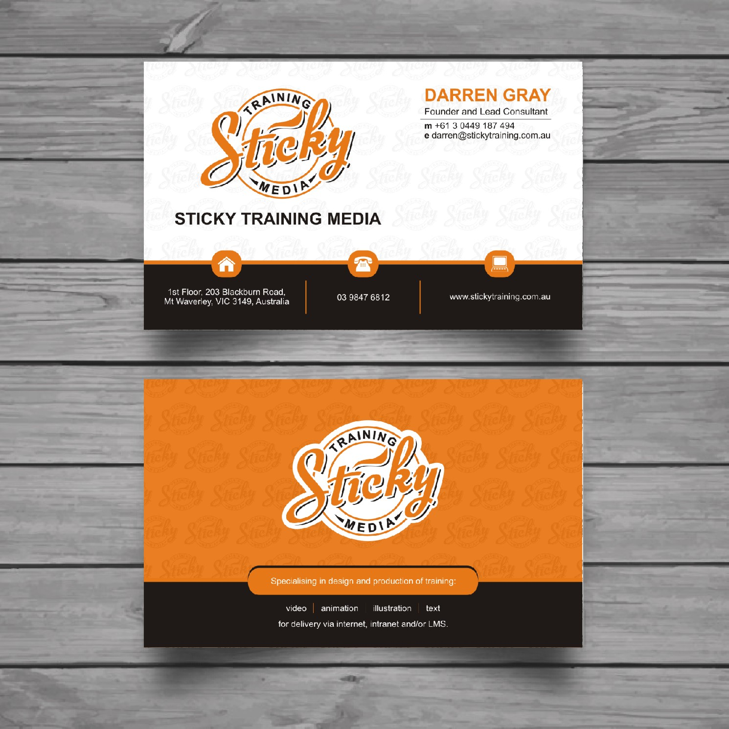 Serious modern training business card design for a company by business card design by raajesh for this project design 11929384 colourmoves