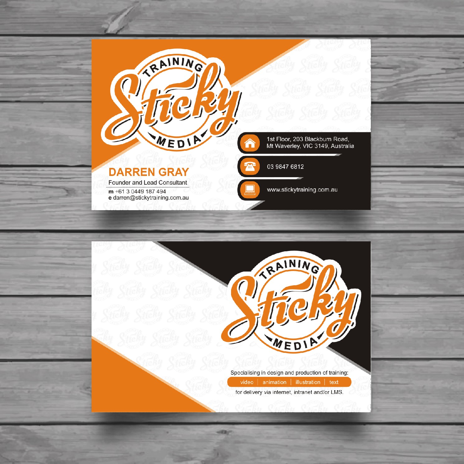 Serious modern training business card design for a company by business card design by raajesh for this project design 11929385 reheart Choice Image