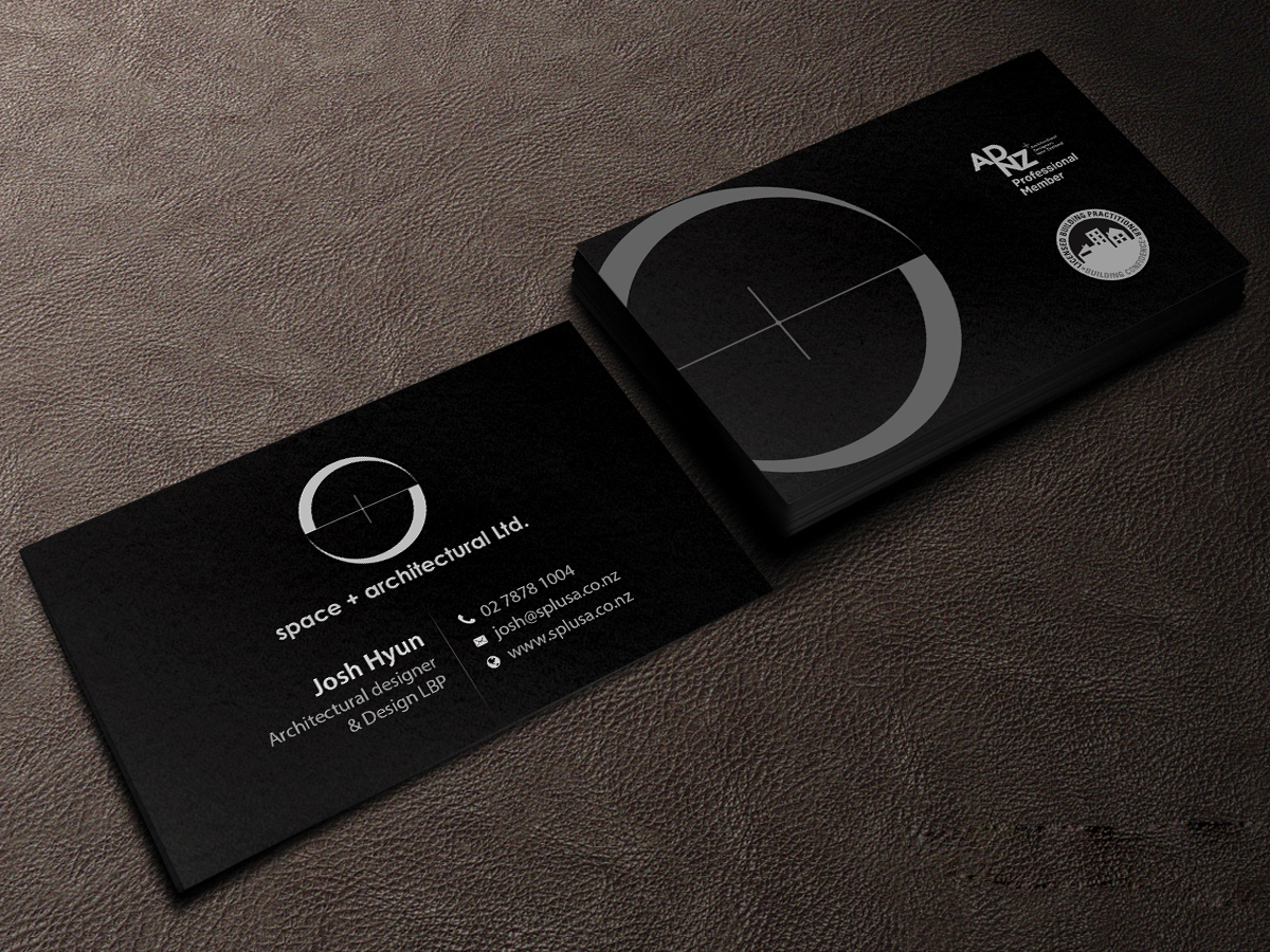 178 Professional Business Card Designs | Architecture Business Card ...